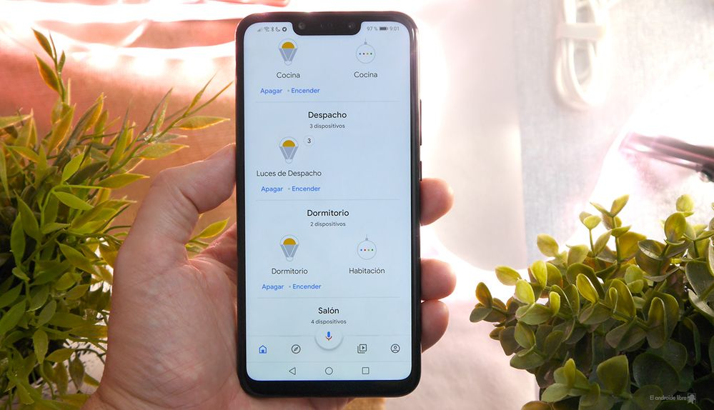 ¿Imitar un amanecer? Es posible. Fuente: El Androide Libre (https://elandroidelibre.elespanol.com/2019/04/google-home-amanecer-casa-bombillas-inteligentes.html)