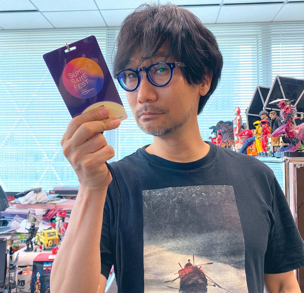 Qué irá a hacer Kojima en el festival?? Fuente: Twitter (https://twitter.com/Kaizerkunkun/status/1402128246431371269)