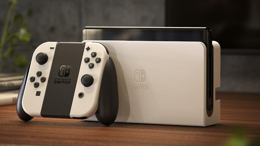 Tras muchos rumores, llegó por fin. Fuente: Nintendo (https://www.nintendo.es/Familia-Nintendo-Switch/Nintendo-Switch-modelo-OLED-/Nintendo-Switch-modelo-OLED--2000984.html)