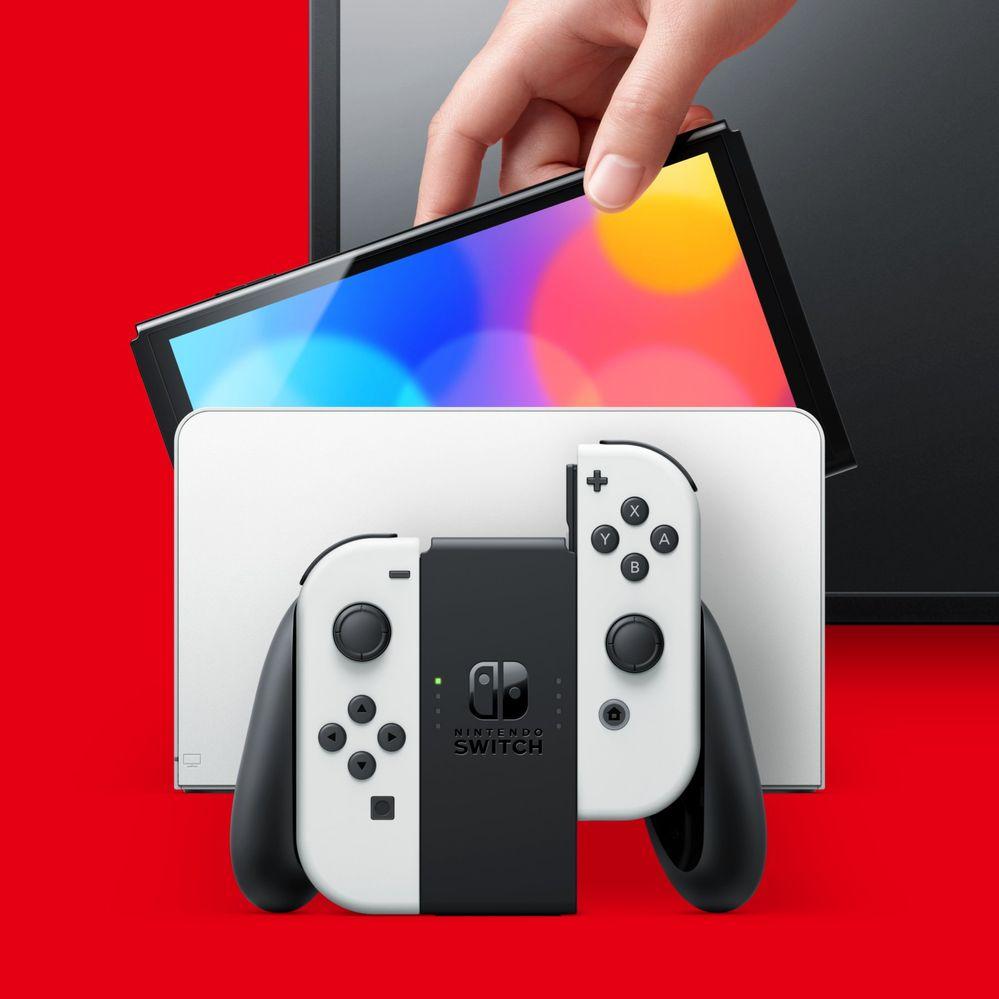 Qué opináis de la nueva Switch?? Fuente: Nintendo (https://www.nintendo.es/Familia-Nintendo-Switch/Nintendo-Switch-modelo-OLED-/Nintendo-Switch-modelo-OLED--2000984.html)