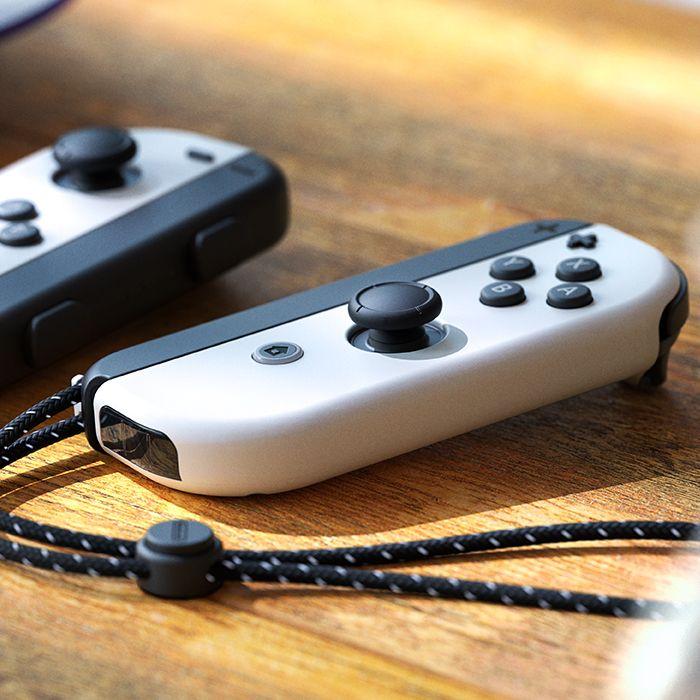 Pues parece que lo único que han cambiado es el color. Fuente: Nintendo (https://www.nintendo.es/Familia-Nintendo-Switch/Nintendo-Switch-modelo-OLED-/Nintendo-Switch-modelo-OLED--2000984.html)