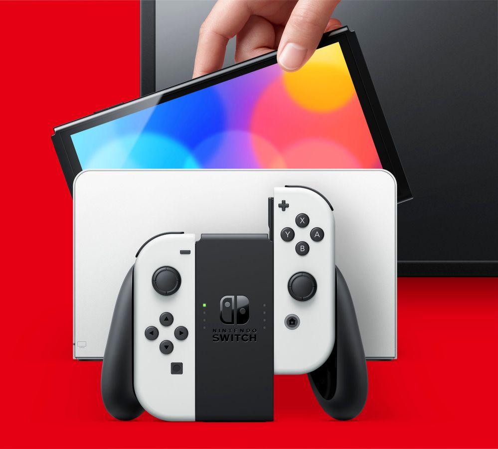 Qué os parece el nuevo modelo?? Fuente: Nintendo (https://www.nintendo.es/Familia-Nintendo-Switch/Nintendo-Switch-modelo-OLED-/Nintendo-Switch-modelo-OLED--2000984.html)