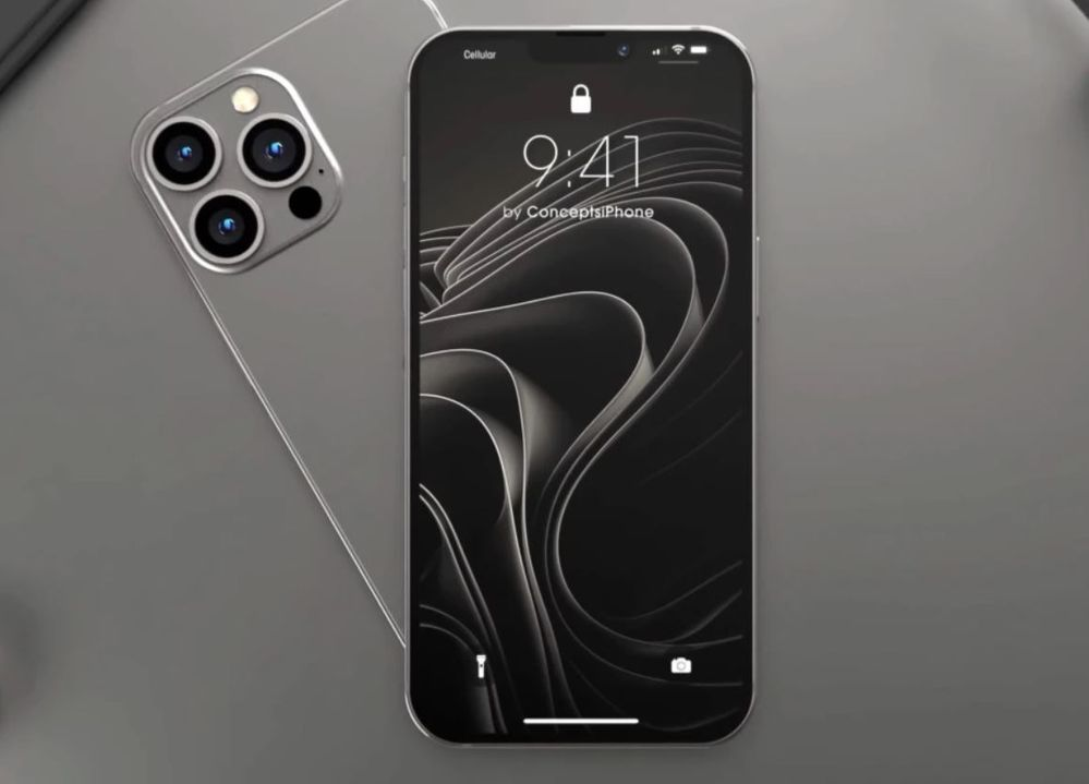 En busca de una nueva forma de innovar. Fuente: PhoneArena (https://www.phonearena.com/news/apple-iphone-14-notch-in-display-touch-id_id133615)