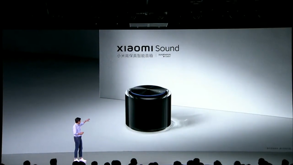 Alta gama en un diseño muy pero que muy compacto. Fuente: Notebook Check (https://www.notebookcheck.net/Xiaomi-finds-its-new-Sound-with-its-latest-smart-speaker.554510.0.html)