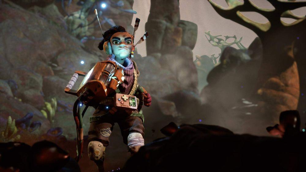 Pintaza!! Fuente: Xbox (https://news.xbox.com/en-us/2021/08/24/gamescom-2021-the-gunk-launching-this-december/)