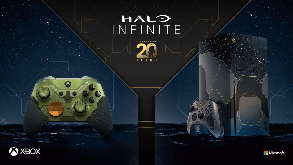 Babeando estamos. Fuente: Xbox (https://news.xbox.com/es-latam/2021/08/25/festeja-20-anos-de-halo-con-un-xbox-series-x-halo-infinite-edicion-limitada-y-mas/)