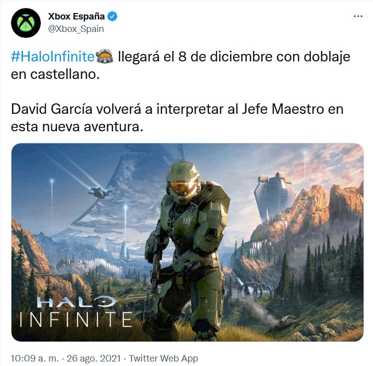 Duda despejada!! Fuente: Twitter (https://twitter.com/Xbox_Spain/status/1430804598269399043)