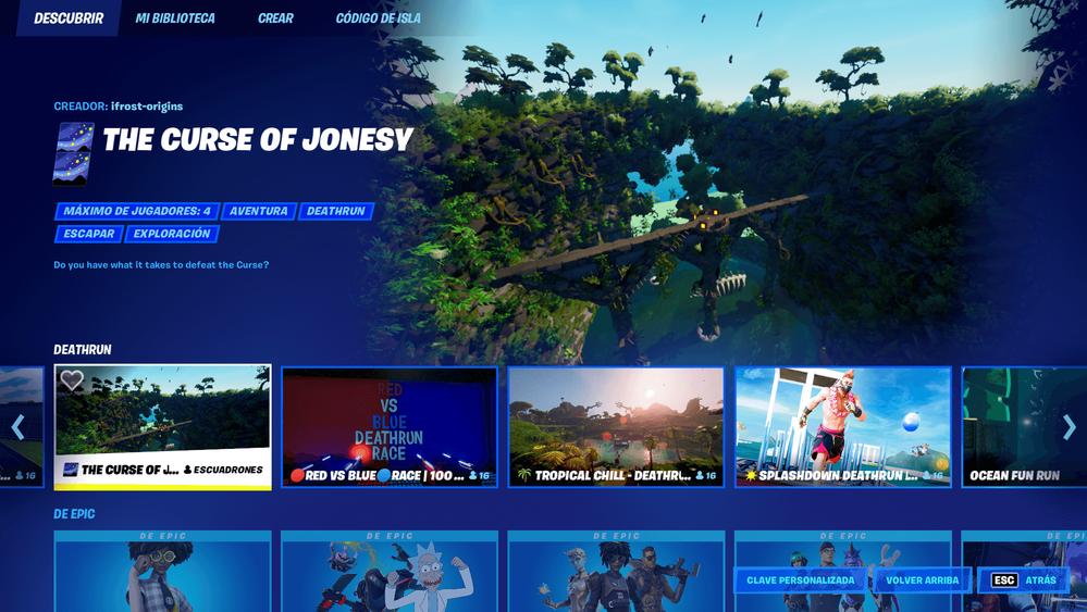 Qué os parece el nuevo menú?? Fuente: Epic Games (https://www.epicgames.com/fortnite/es-ES/news/fortnite-battle-royale-v17-50-update-high-tech-hijinks-come-to-the-island-soon#nnn)